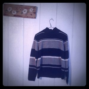 Karen Scott Striped Sweater